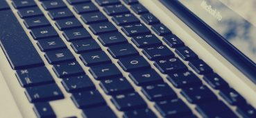 Photo of a MacBook Pro keyboard. Linked to an article on Borderline regression