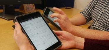 OSCE app in eSystem software